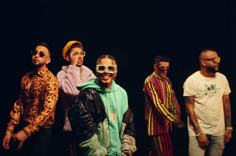 Rauw Alejandro, Anuel, Farruko, Dalex, Lenny Tavarez, Sech, Dimelo Flow, Justin Quiles - Elegí Remix