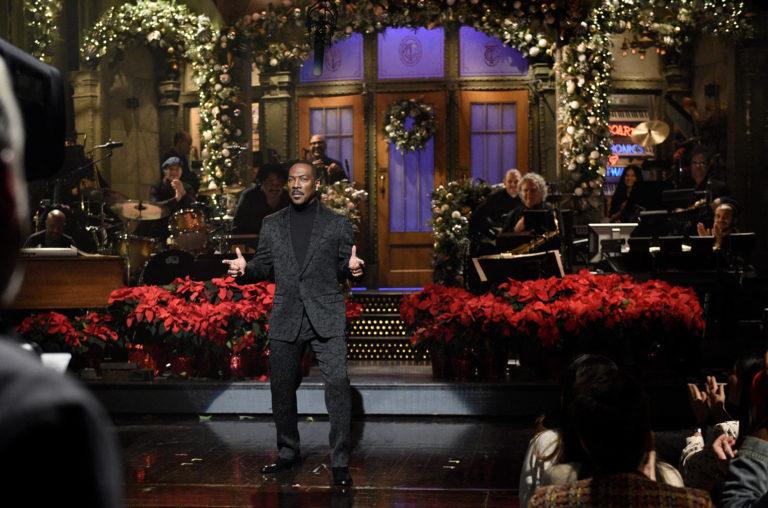Saturday Night Live Host Eddie Murphy