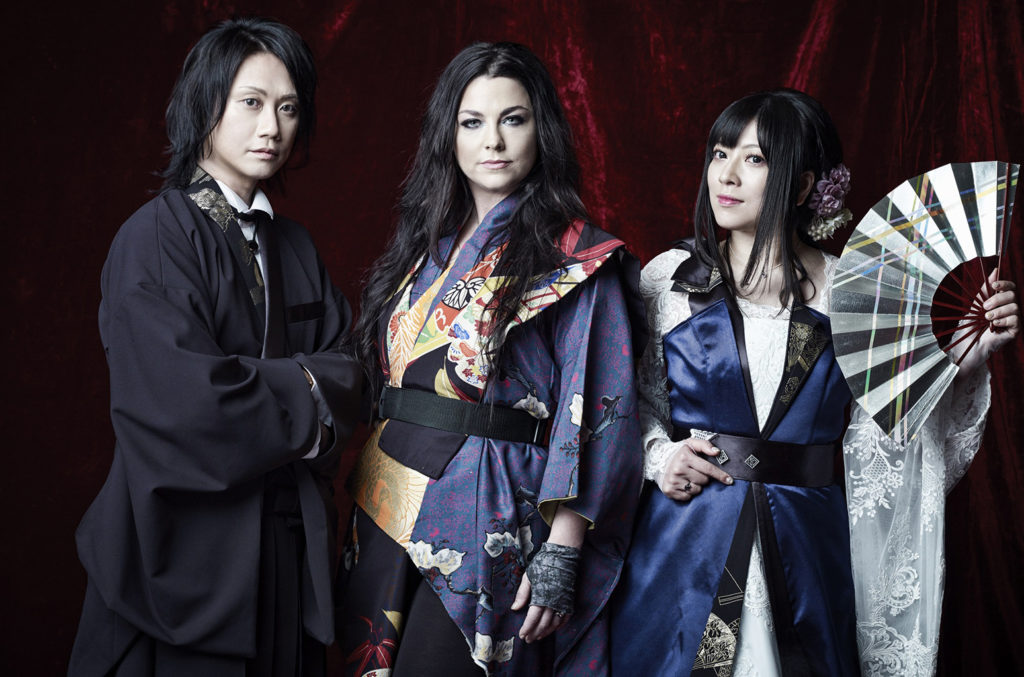 Japan`s Wagakki Band  Evanescence`s Amy Lee Sit...