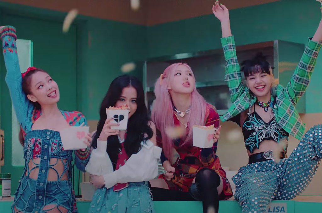 Blackpink Sledgehammer Cars, Shoot Paintballs, Go Dancing in the Streets in  'Lovesick Girls' Video | Billboard