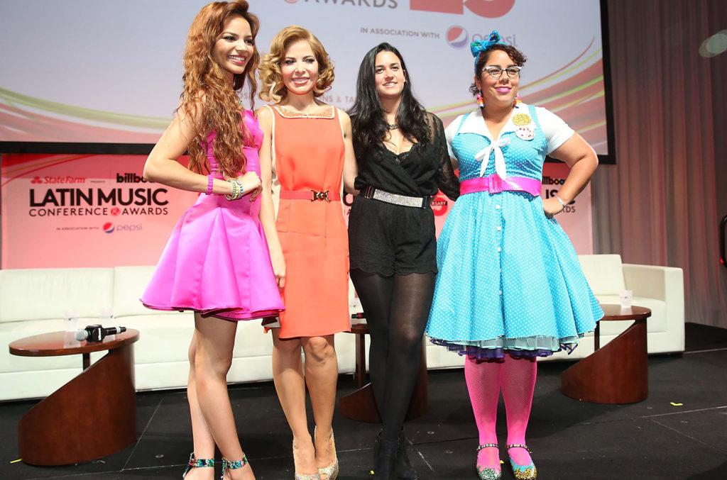 Leslie Grace, Gloria Trevi, Kat Dahlia and La Marisoul