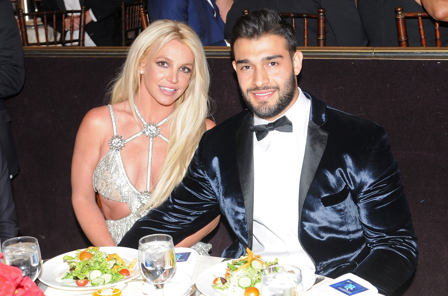 Britney Spears Celebrates Boyfriend Sam Asghari's Birthday by Squeaking Along to 'Toxic' - Billboard