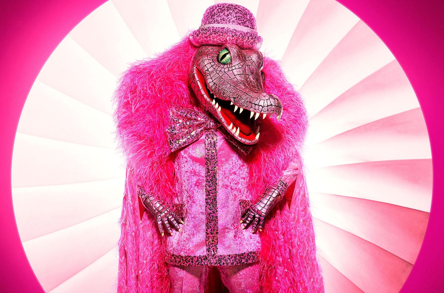 THE MASKED SINGER: Crocodile.