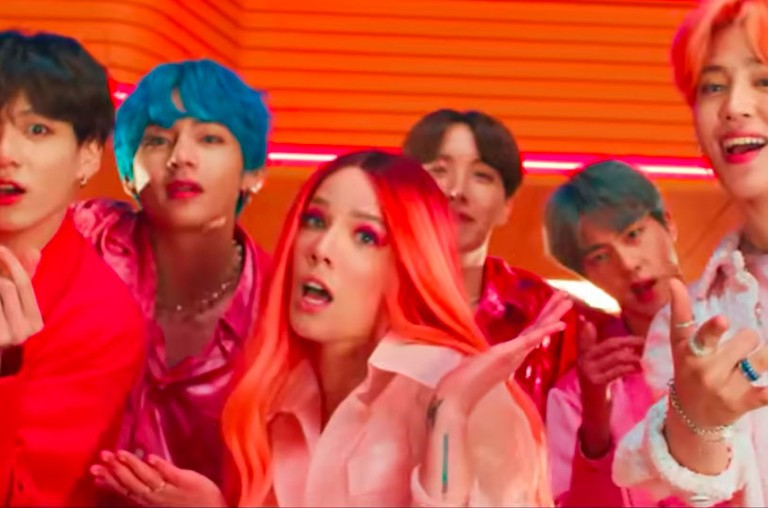 BTS & Halsey's 'Boy With Luv' Video Officially Crosses the Billion Views Mark on YouTube