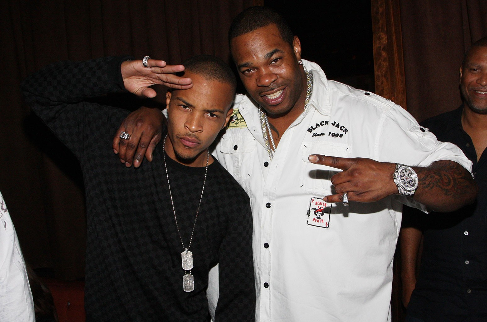 T.I. and Busta Rhymes