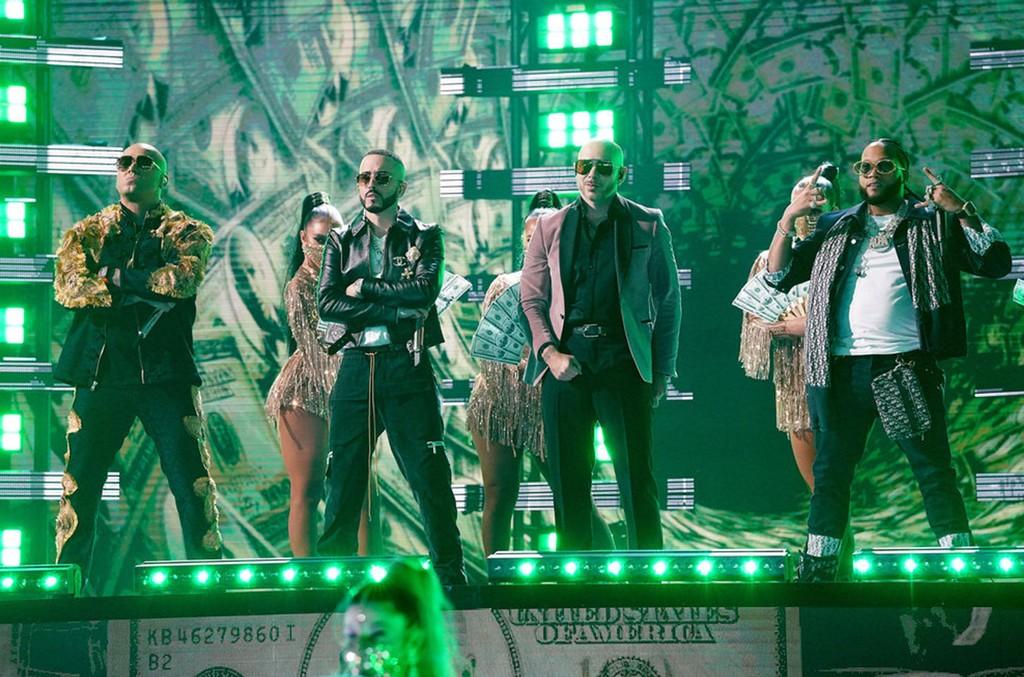 Wisin, Yandel, Pitbull and El Alfa