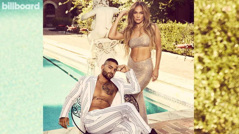 <p>Jennifer Lopez and Maluma photographed on October 1, 2020 at the Paramour Estate in Los Angeles. Lopez Styling by Rob &amp&#x3B; Mariel. Lopez wears a Celia Kritharioti top and skirt, Jimmy Choo shoes, Fernando Jorge earrings, Kallati ring. Maluma styling by Ugo Mozie &amp&#x3B; Daver Campbell. Maluma wears a Dolce &amp&#x3B; Gabbana jacket, pants and boots, My Bff Dia ring.</p>