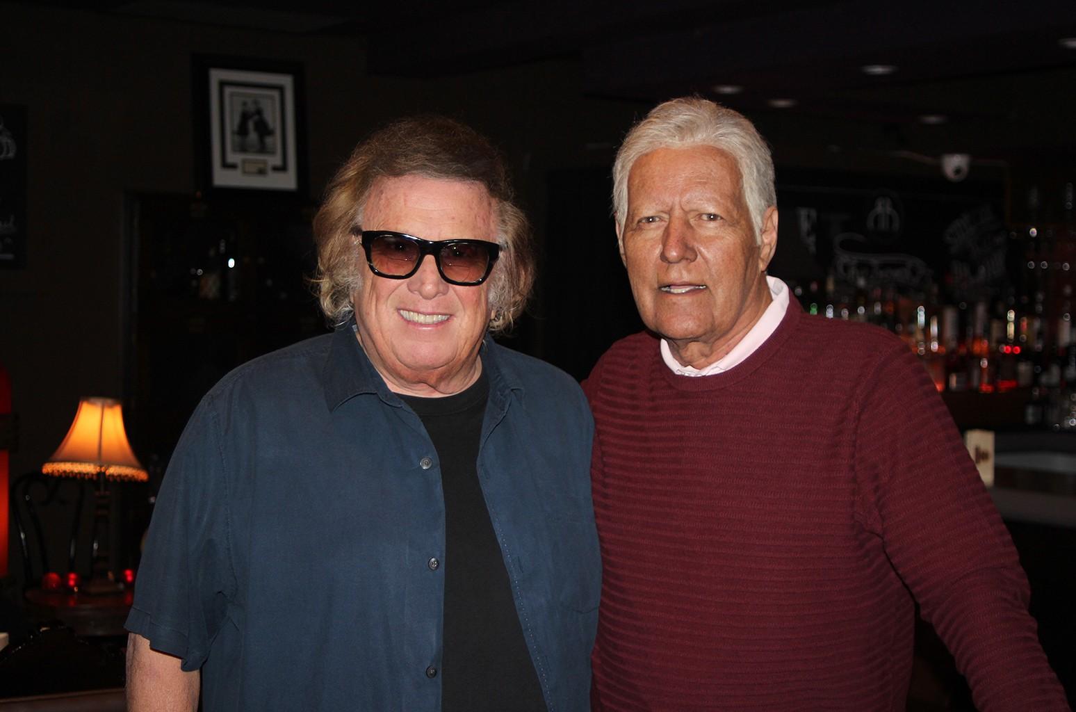 Don McLean and Alex Trebek