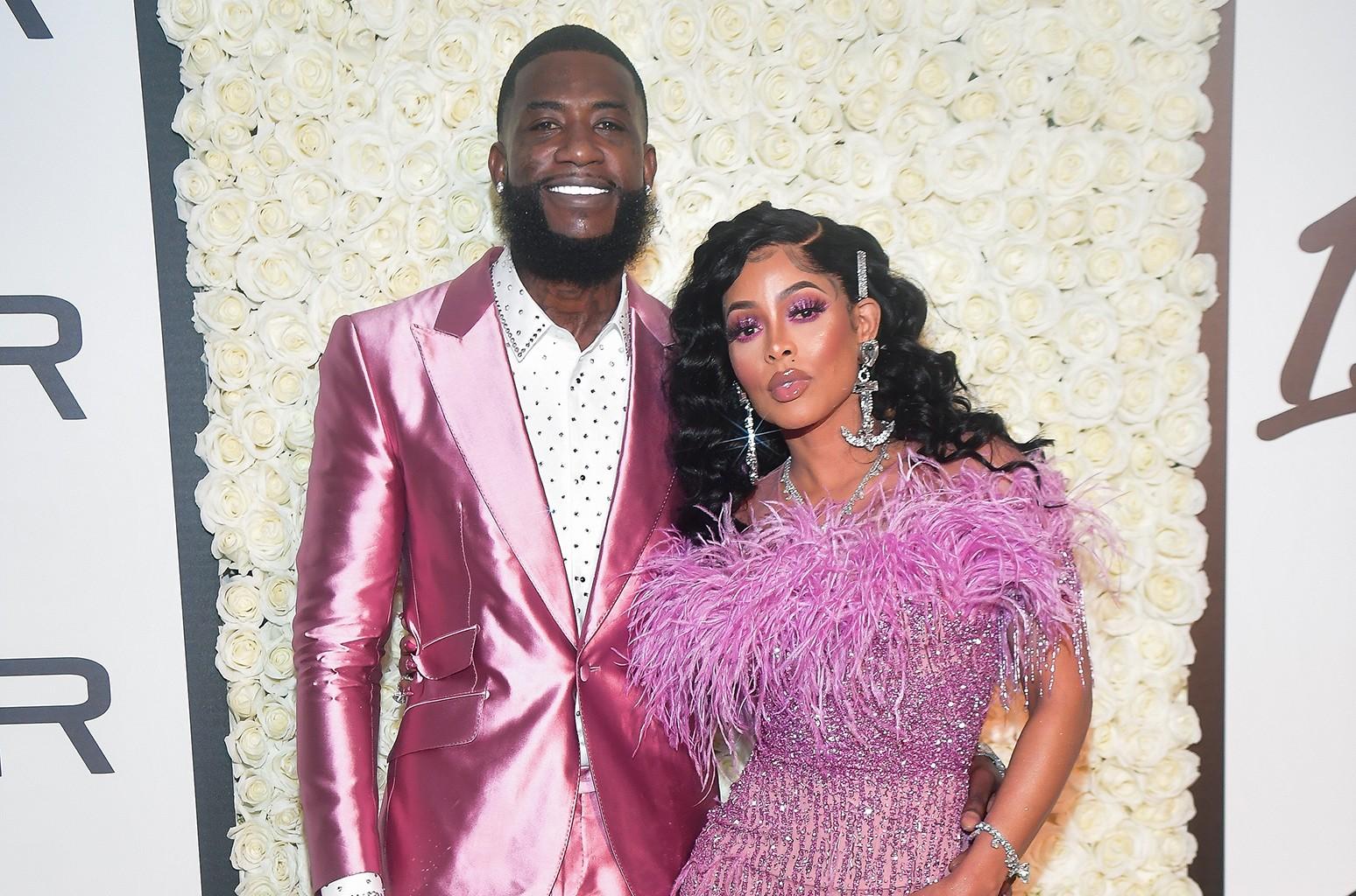 Gucci Mane and Keyshai Ka'oir