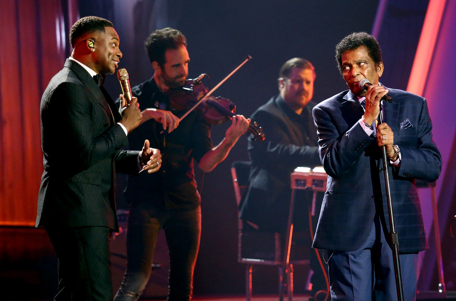 Jimmie Allen and Charley Pride