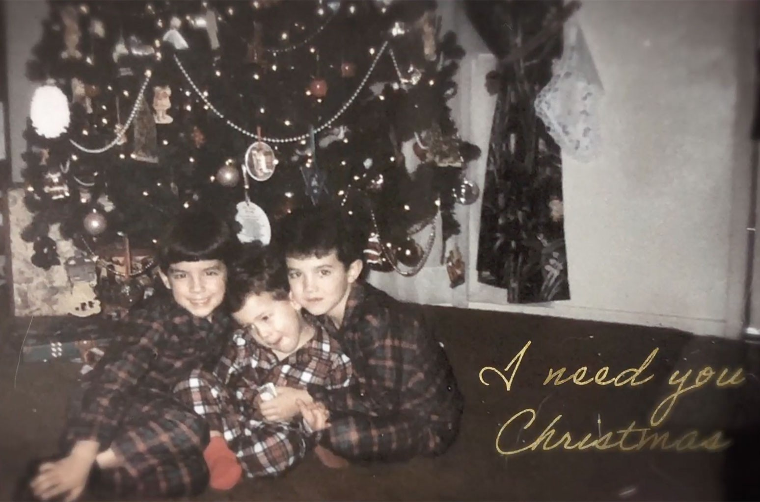 """Jonas Brothers """"I Need You Christmas"""""""