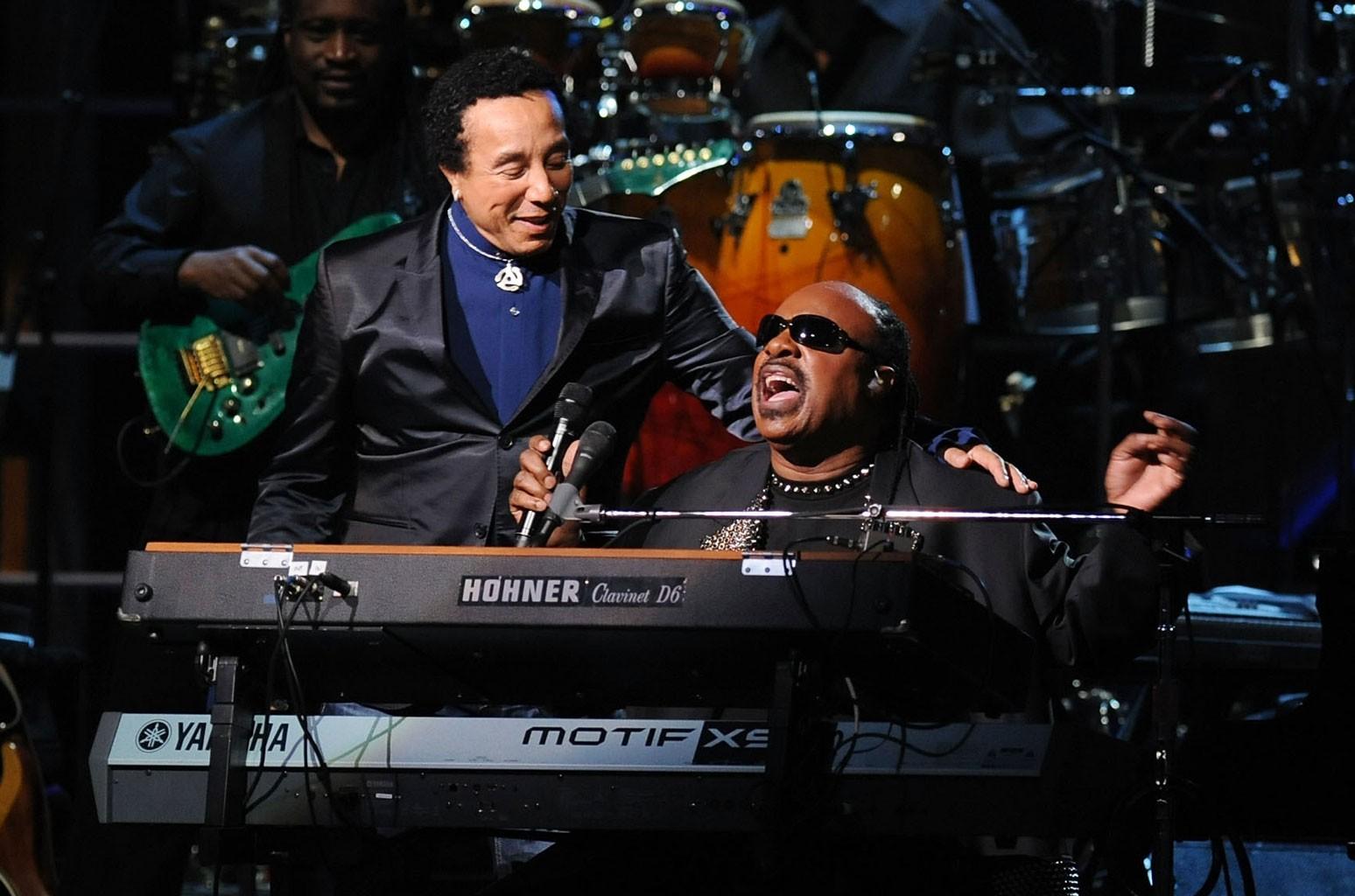 Smokey Robinson, Stevie Wonder