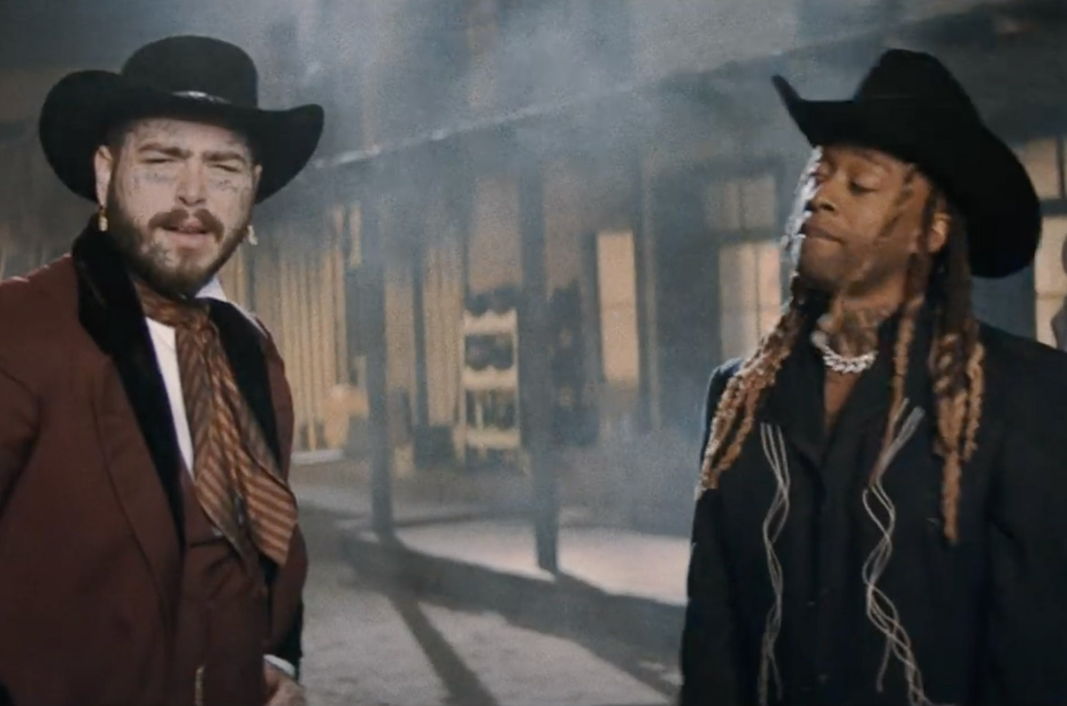Snoop Dogg Narrates Ty Dolla $ign & Post Malone's 'Spicy' Wild West Video - Billboard