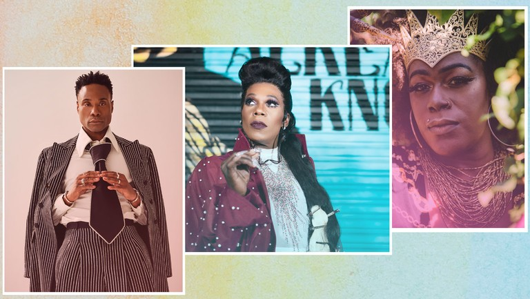 <p>Billy Porter, Big Freedia and Shea Diamond</p>