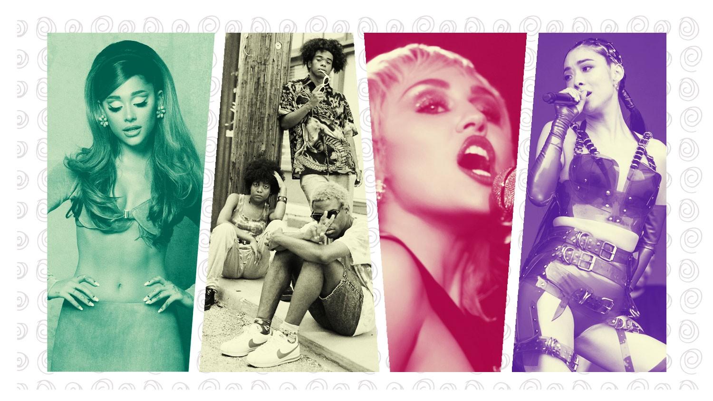 Ariana Grande, BLACKSTARKIDS, Miley Cyrus, Rina Sawayama