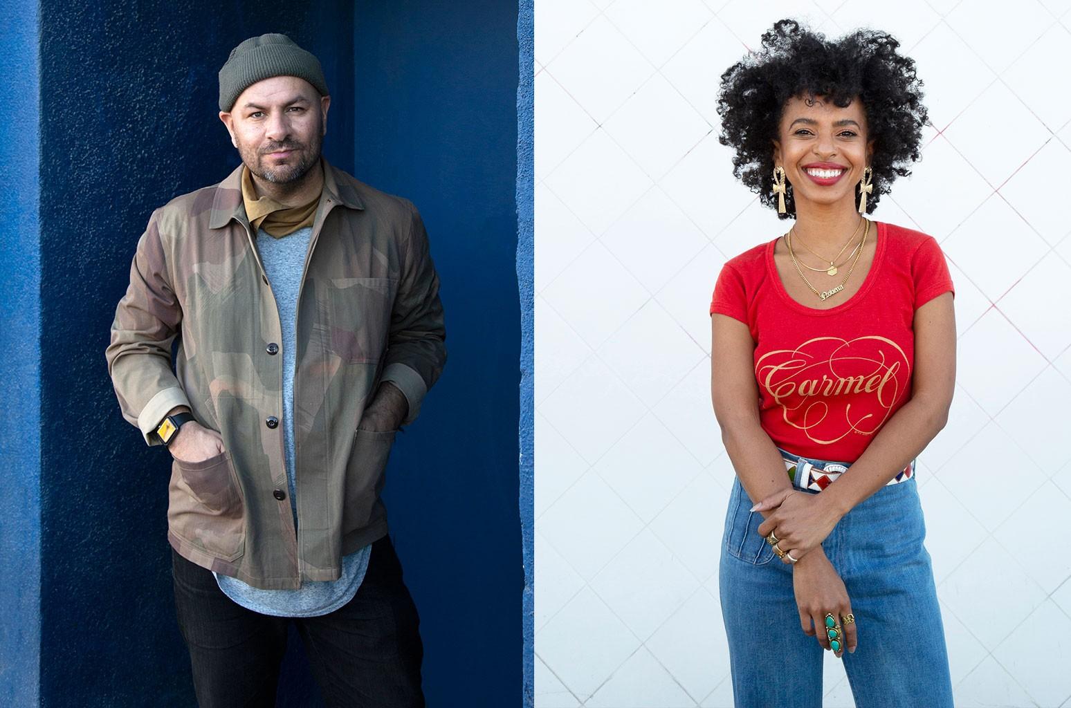 В песне «Morning Becomes Eclectic» KCRW названы Энтони Валадес и Новена Кармель в качестве новых со-ведущих