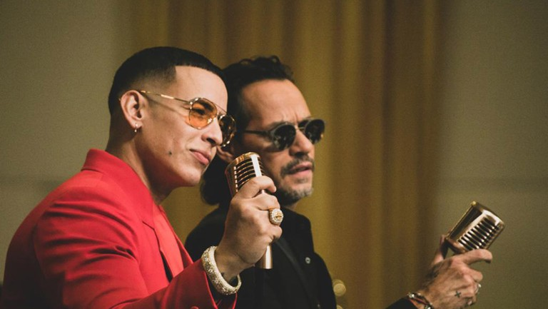 Daddy Yankee Marc Anthony Collab Debuts Billboard