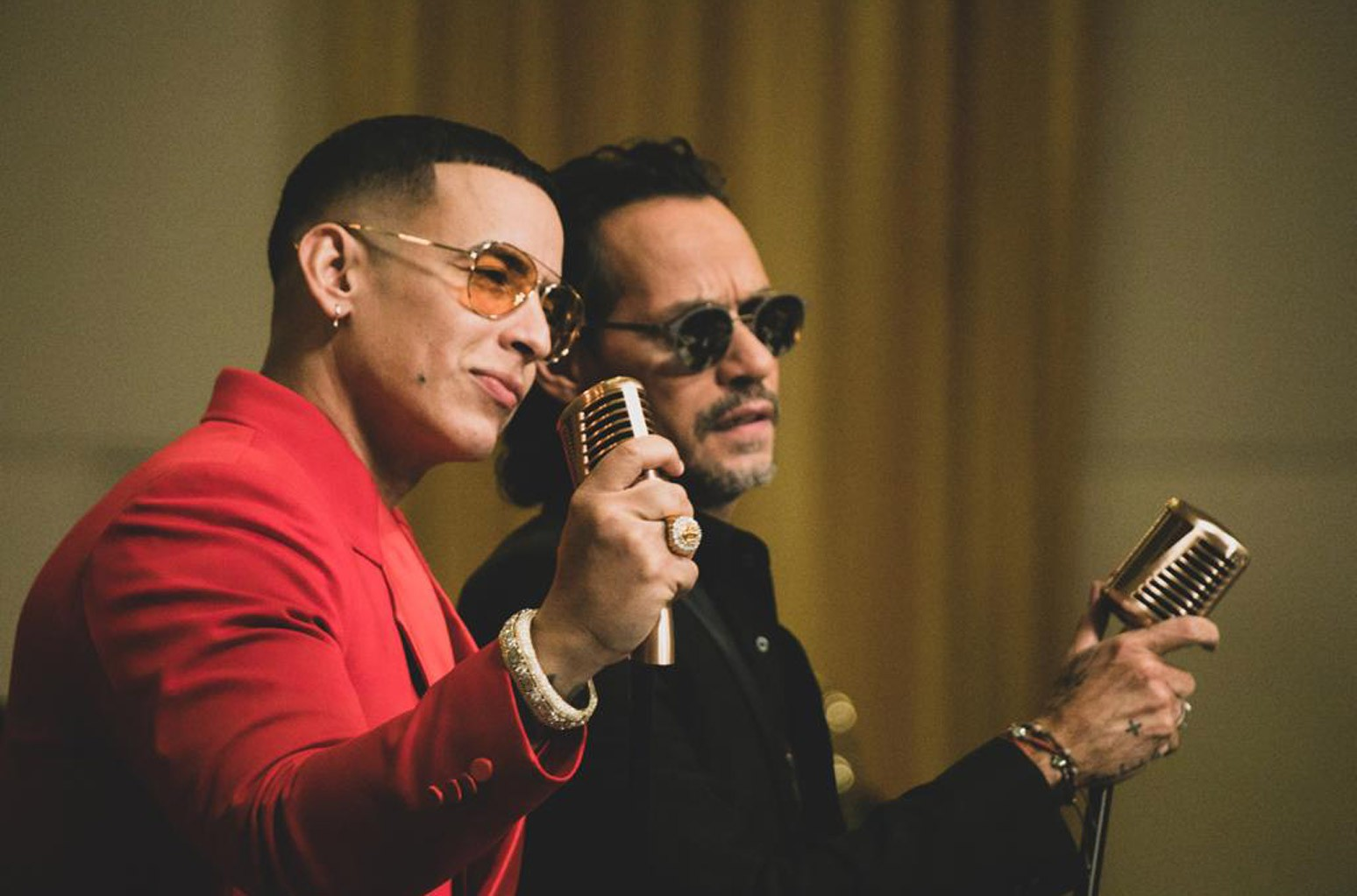Daddy Yankee and Marc Anthony