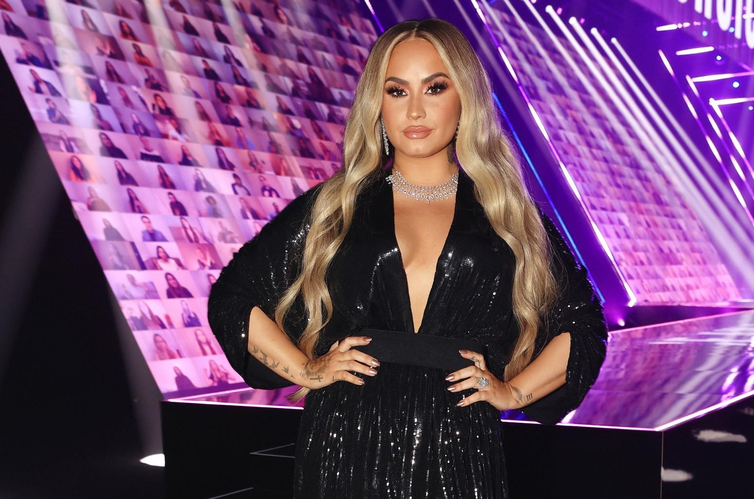 Christina Aguilera, JoJo, Elton John & More Support Demi Lovato Following Documentary Trailer