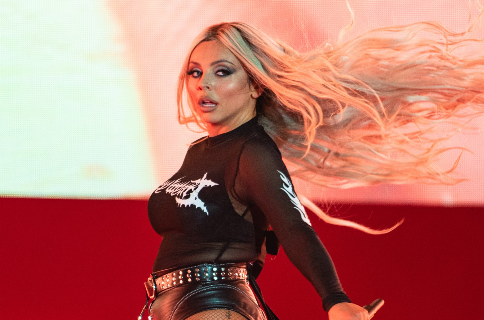 Jesy Nelson Debuts Icy Blonde Hair: See the Pics