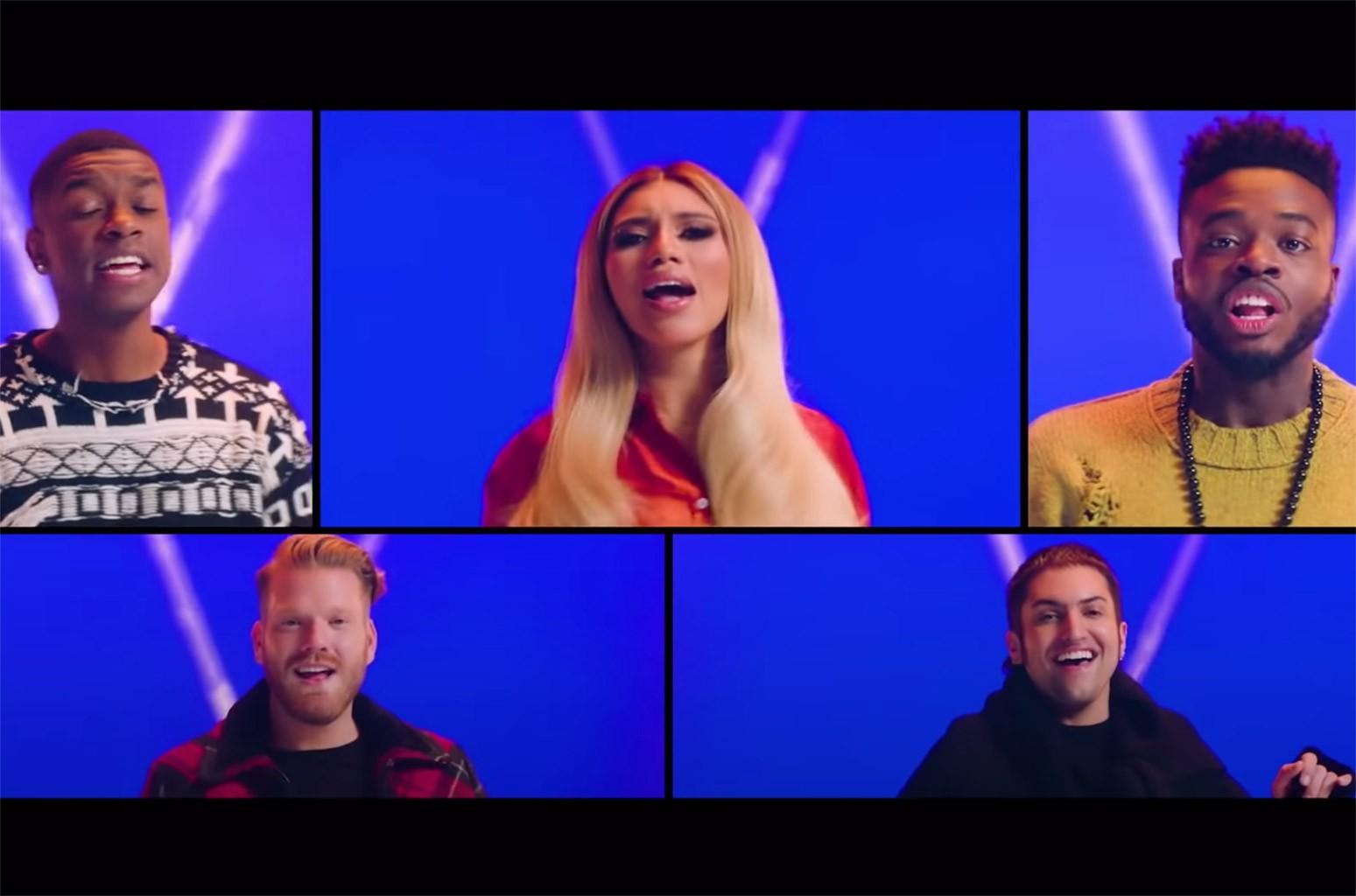 Watch Pentatonix Take a Tour Through Musical Genres in '12 Days of Christmas' Video | Billboard