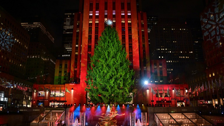 Rockefeller Christmas Tree 2021 Time Rockefeller Tree Lighting 2020 How To Watch Billboard