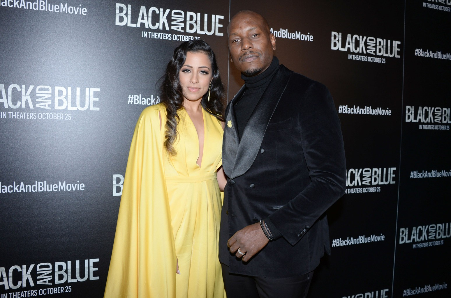 Samantha Gibson and Tyrese Gibson