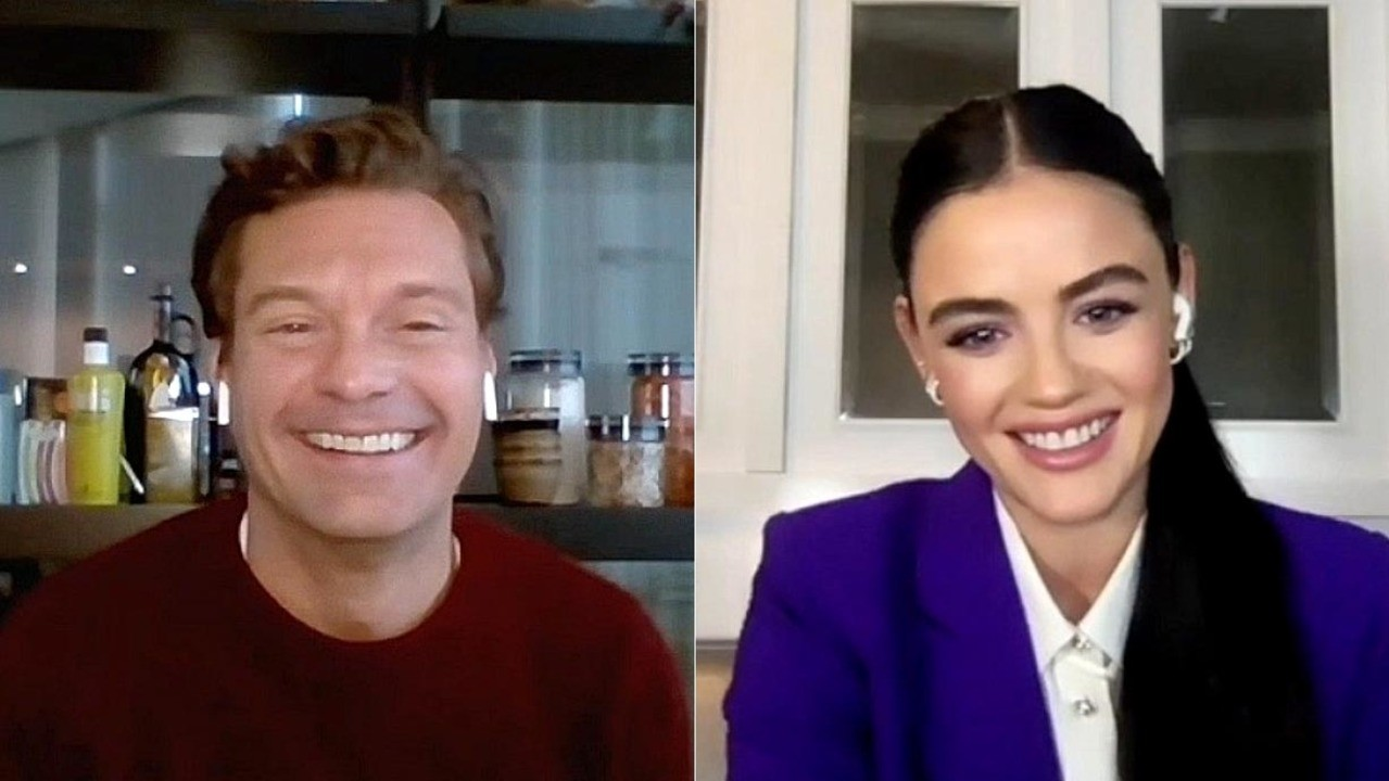 'New Year's Rockin' Eve' Hosts Ryan Seacrest & Lucy Hale Talk 2020 Farewell… and Trying to Sneak a BTS NYE Kiss