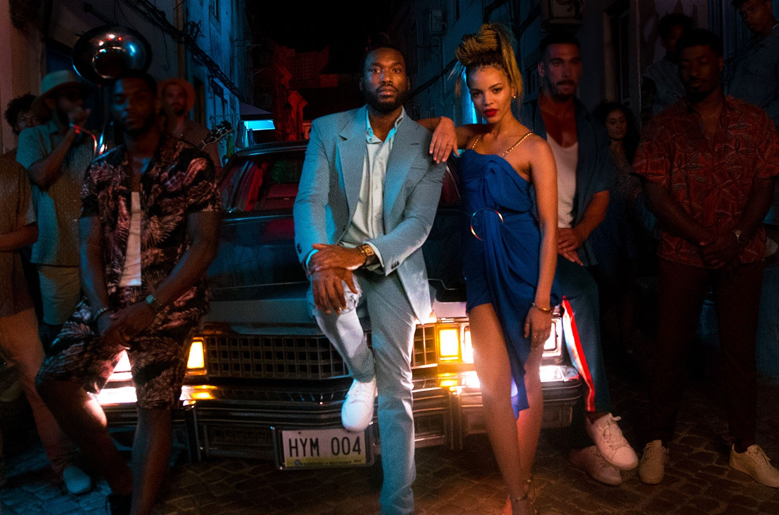 "Meek Mill and Leslie Grace ""Conga"""