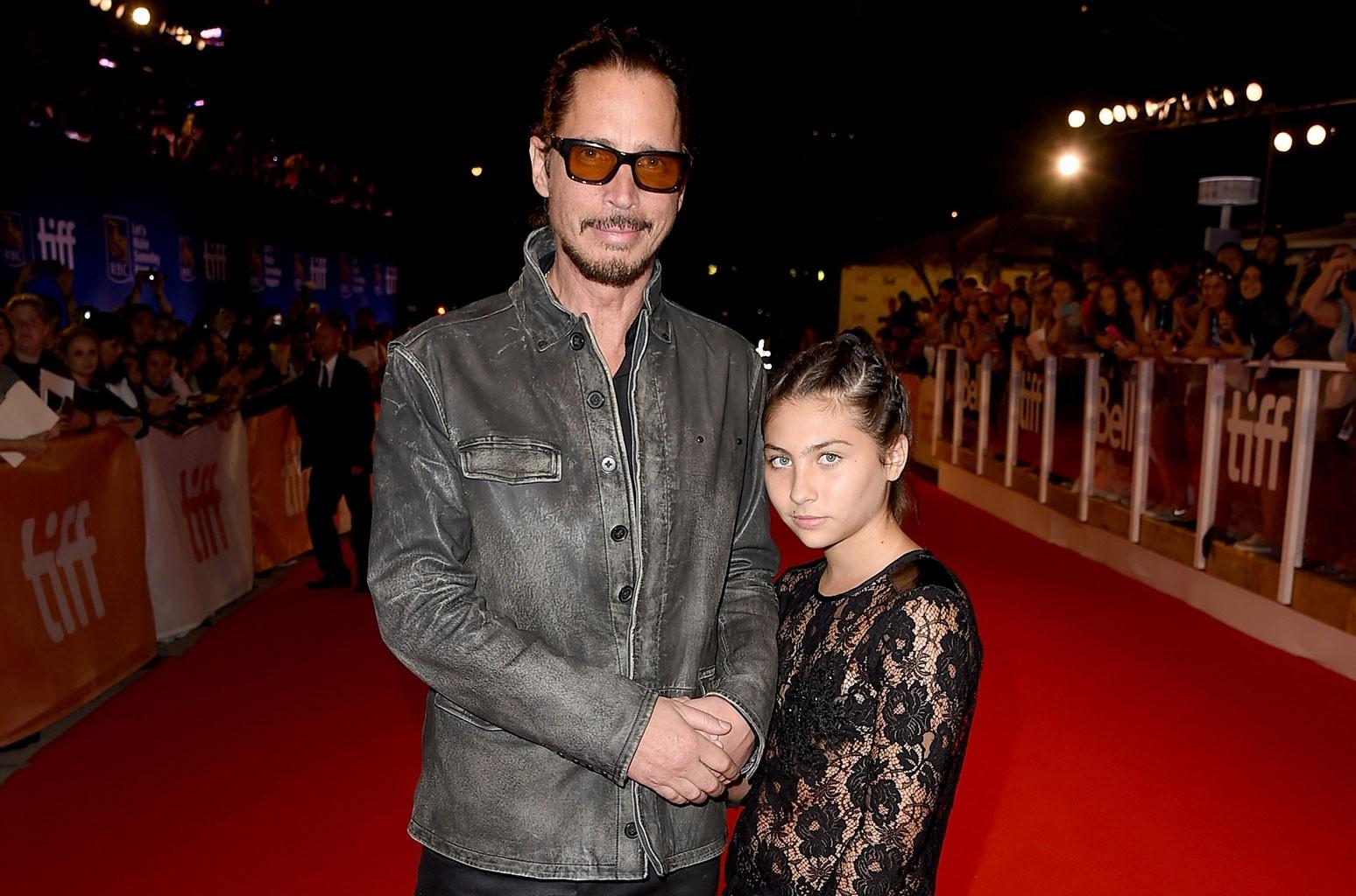 Chris Cornell and Toni Cornell