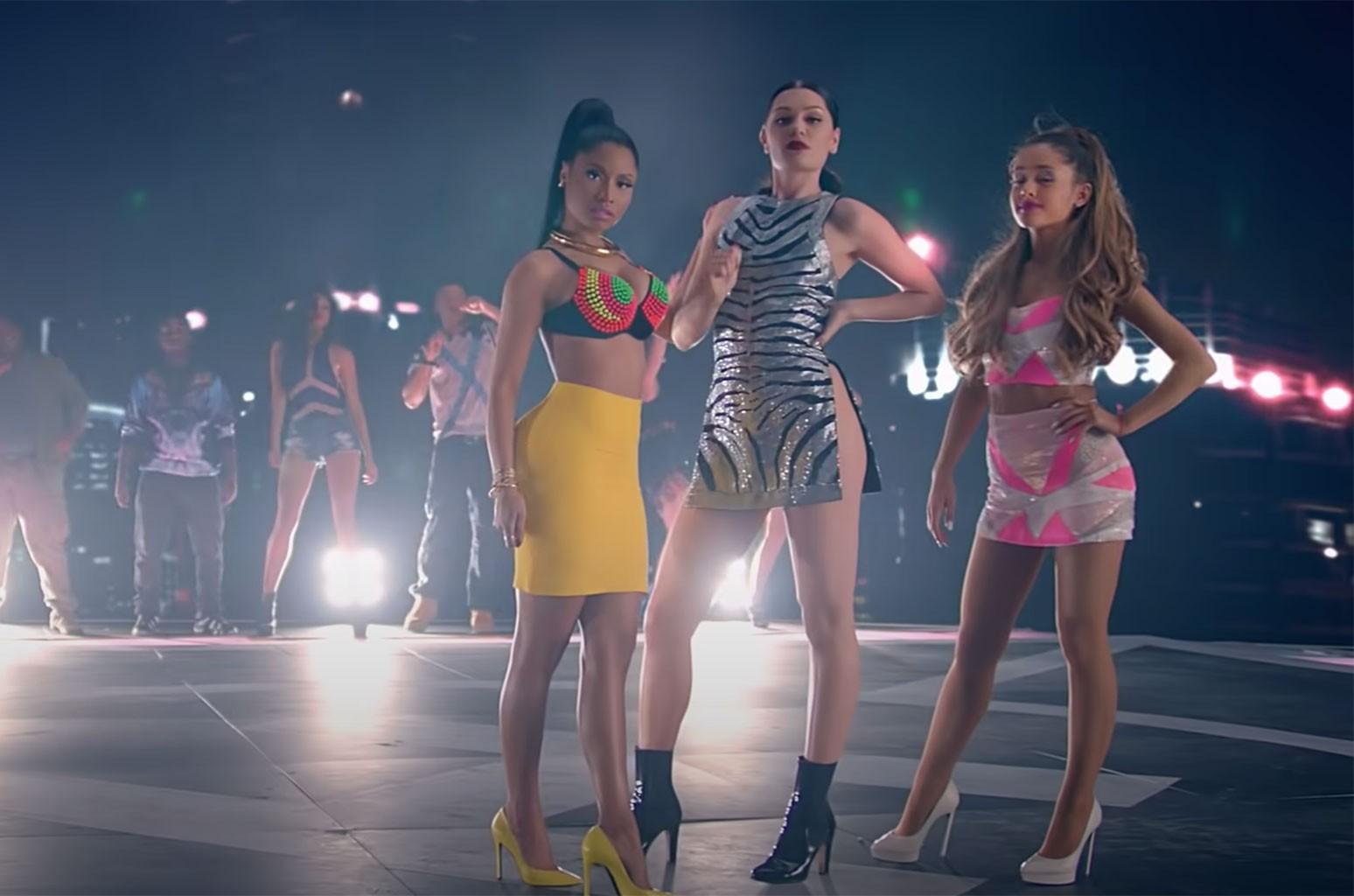 "Jessie J, Ariana Grande, Nicki Minaj ""Bang Bang"""