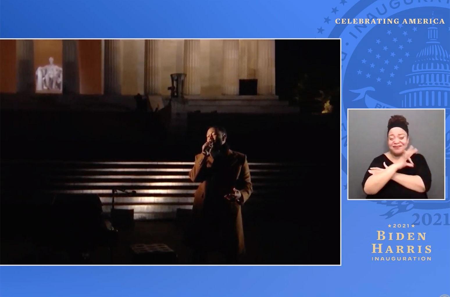 Джон Ледженд «чувствует себя хорошо» своим выступлением на концерте «Celebrating America»