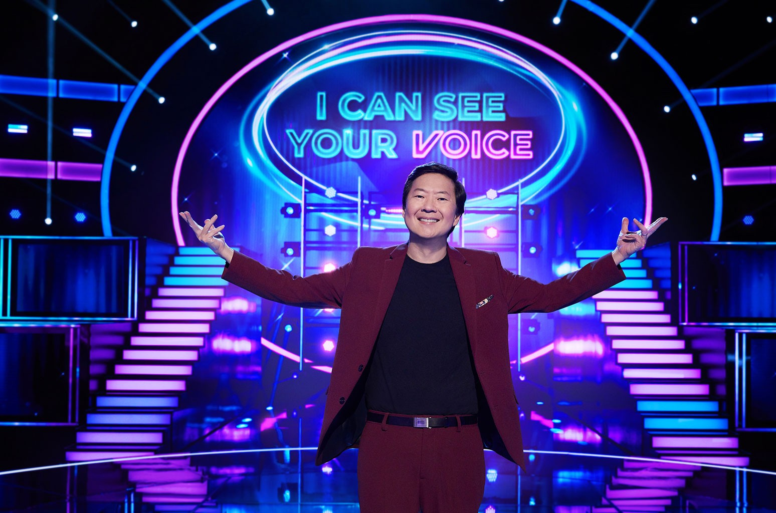 Ken Jeong in the series premiere episode of 'I Can See Your Voice.'