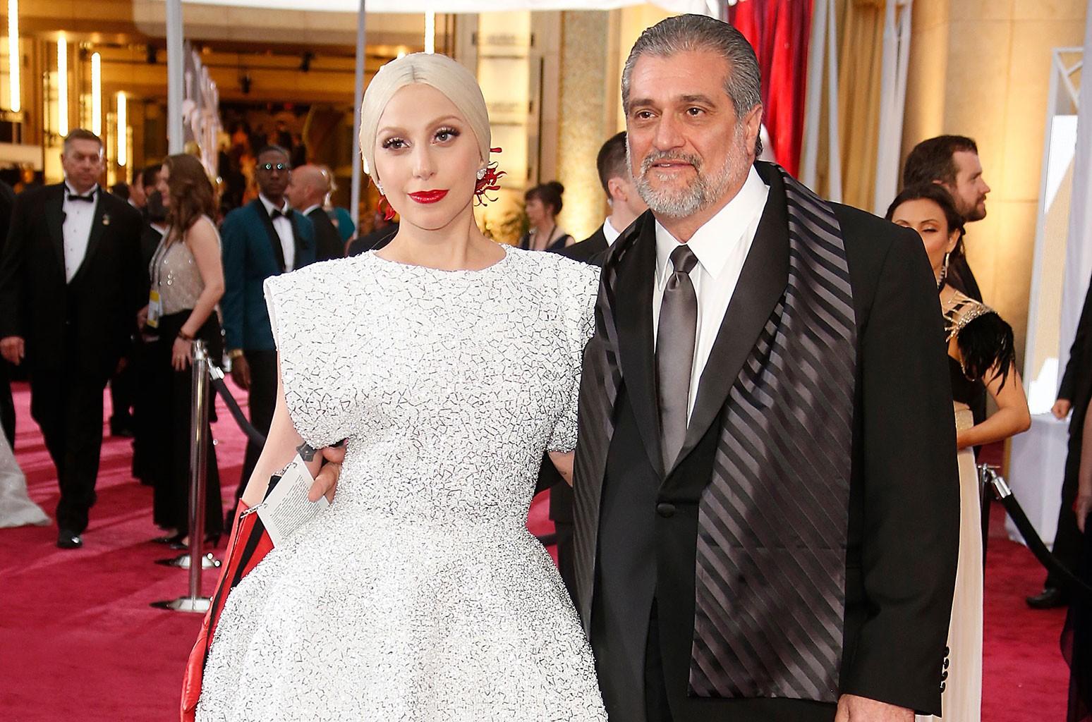 Lady Gaga and Joseph Germanotta