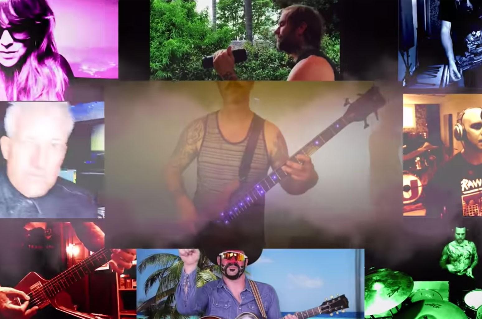 """Limp Bizkit, 311, Mastodon, Filter, The Used, Veruca Salt, In Flames cover """"Mountain Song"""""""