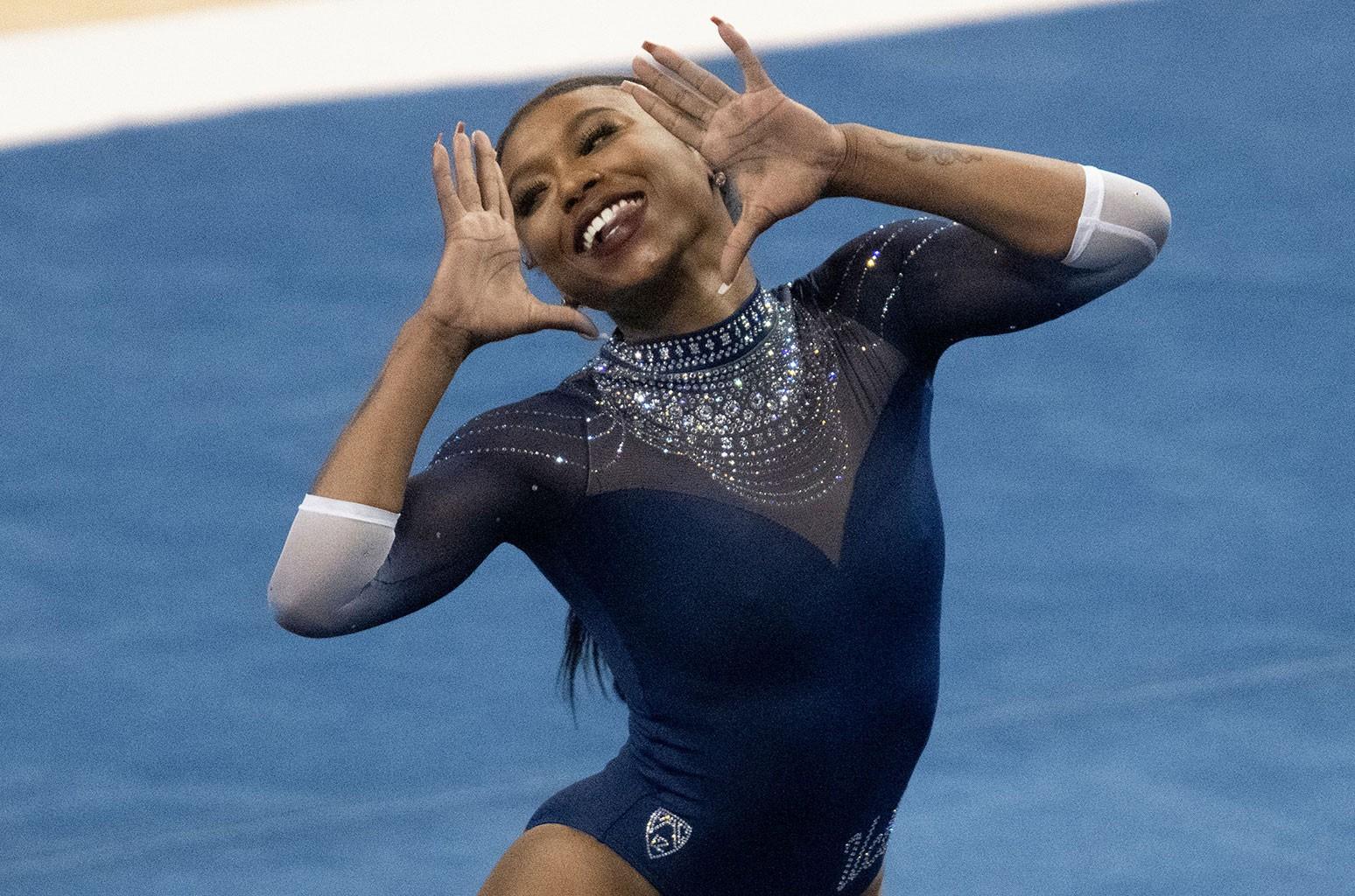 Missy Elliott Is Loving This UCLA Gymnast's 'Snappin' Floor Routine
