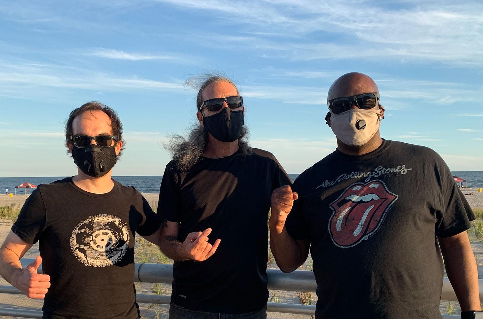 Vaughn Lewis, Kenny Gabor and Steve Davis