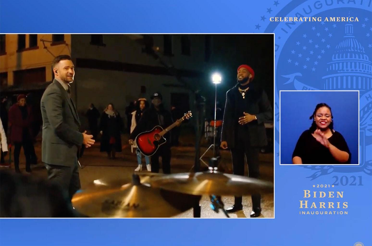 Джастин Тимберлейк и Муравей Клемонс планируют лучшие дни на мероприятии «Celebrating America»