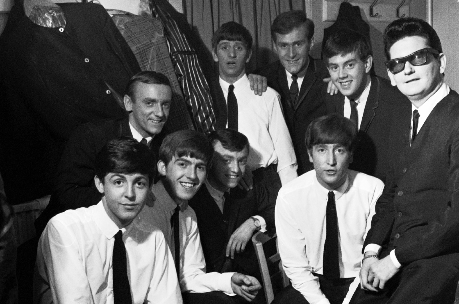 The Beatles, Gerry and the Pacemakers, and Roy Orbison