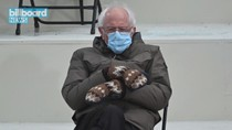 The Internet Loses It Over Bernie Sanders' Cozy Mittens at Biden Inauguration | Billboard News
