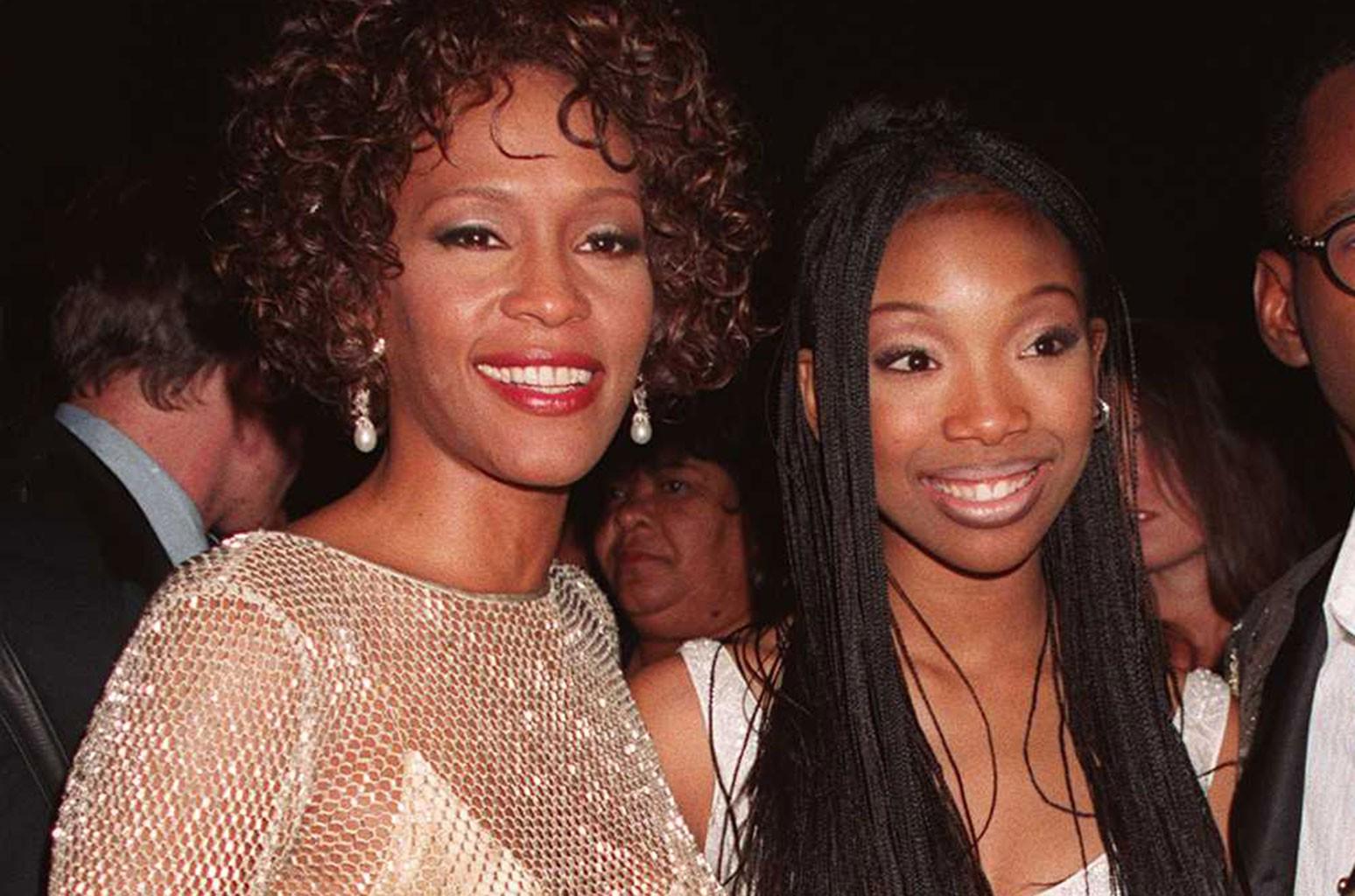 Whitney Houston and Brandy
