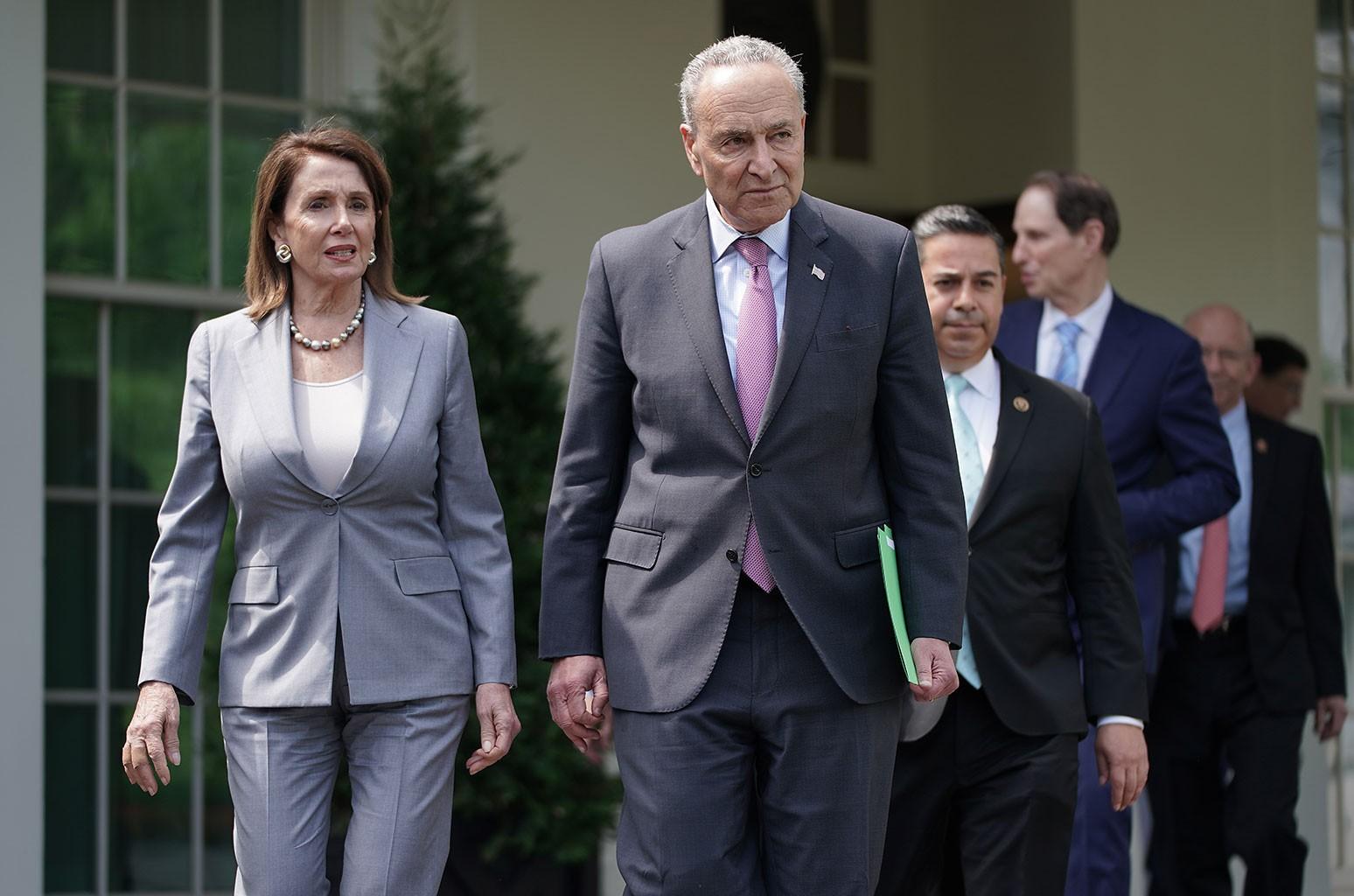 Nancy Pelosi, Charles Schumer