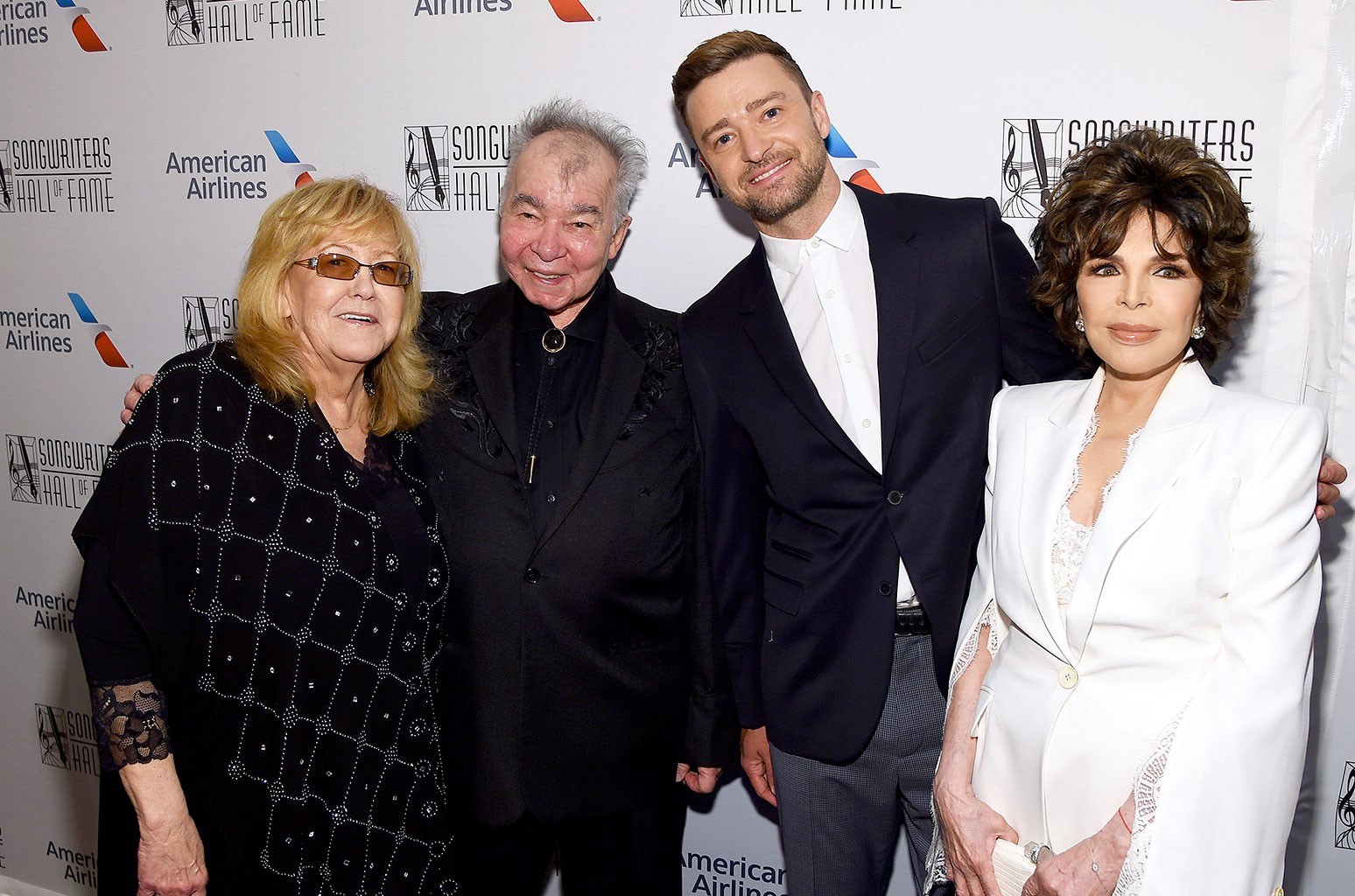 Linda Moran, John Prine, Justin Timberlake and Carole Bayer Sager
