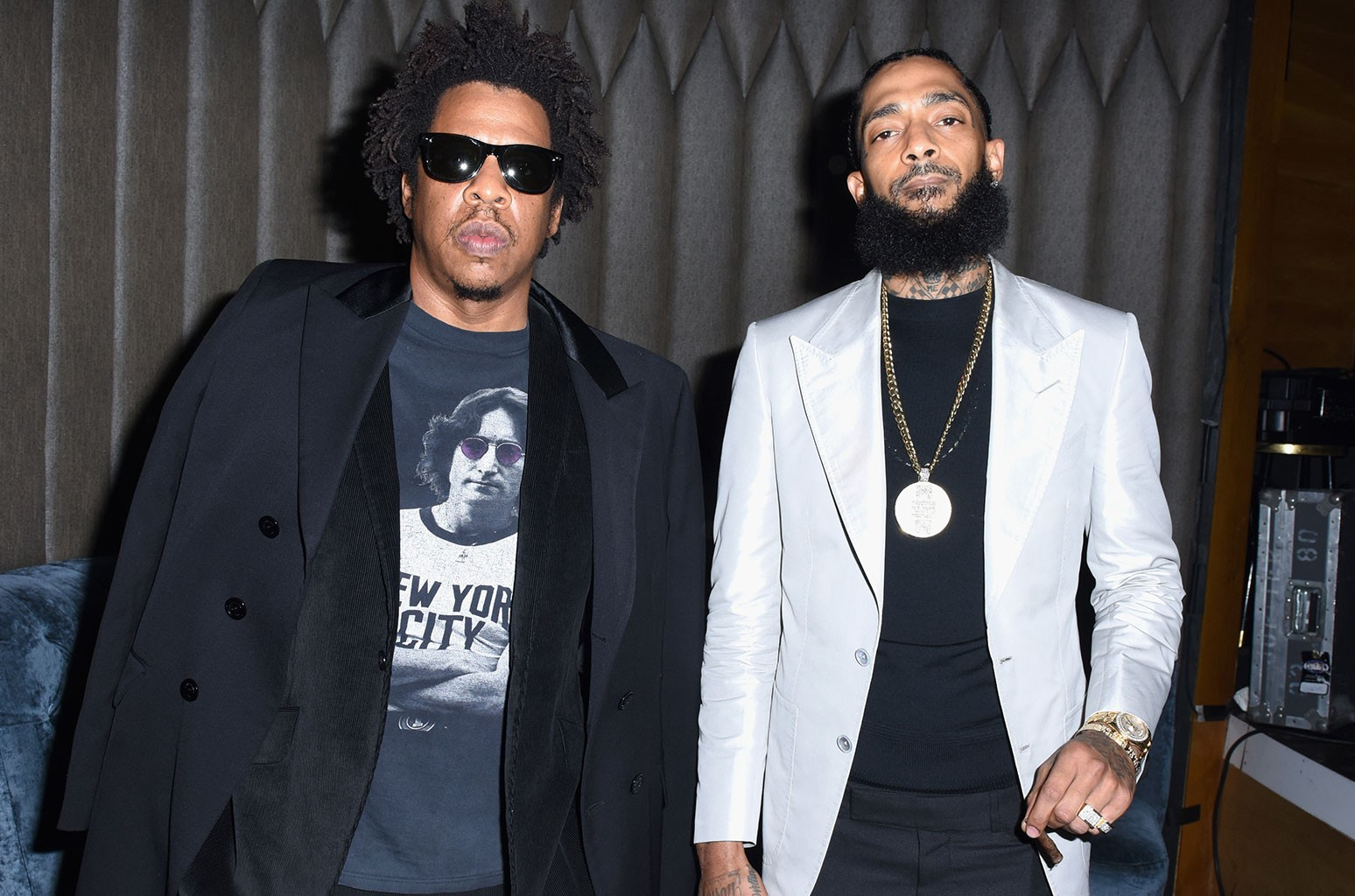 Jay-Z and Nipsey Hussle