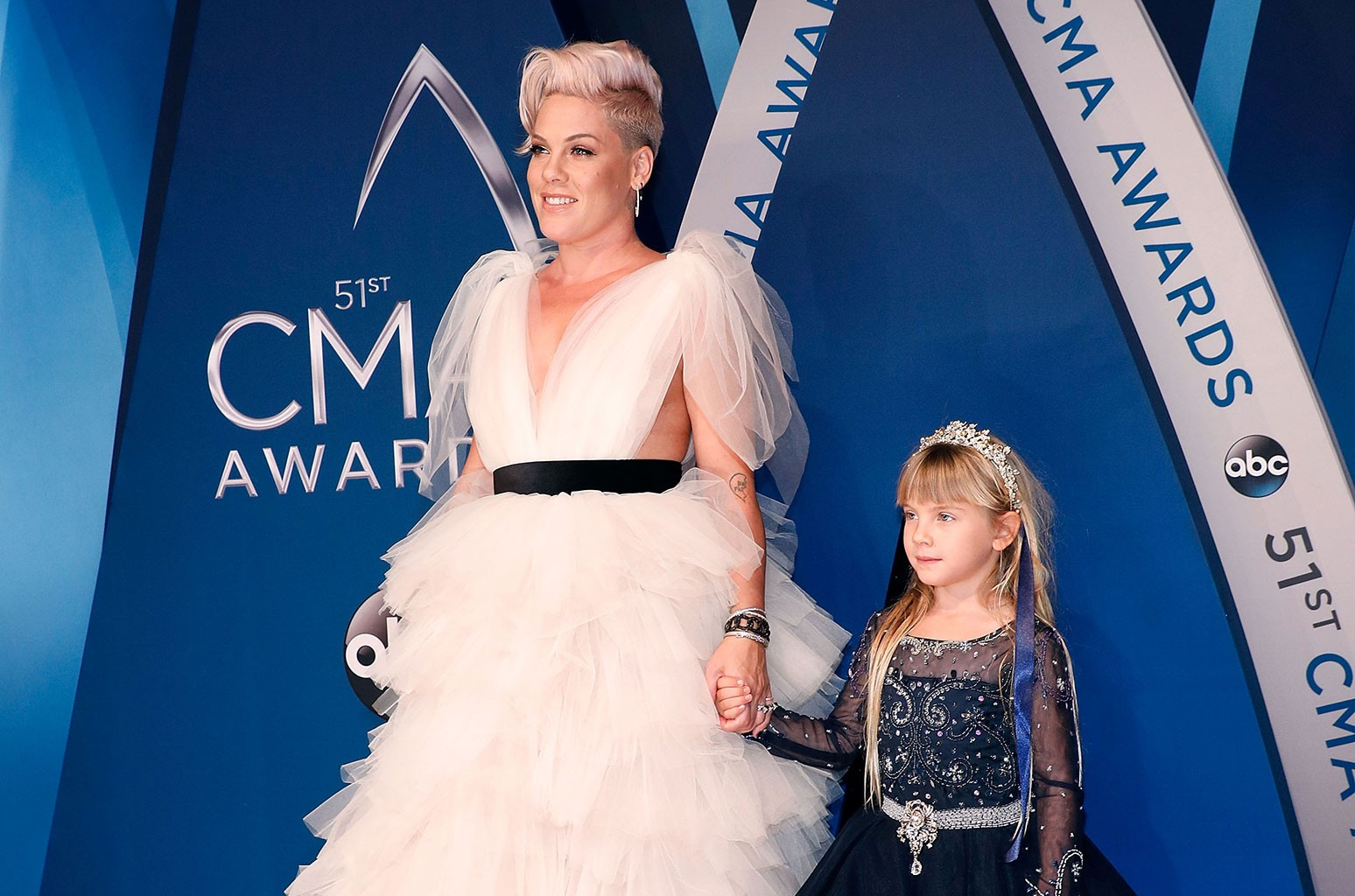 P!nk and Willow Sage Hart