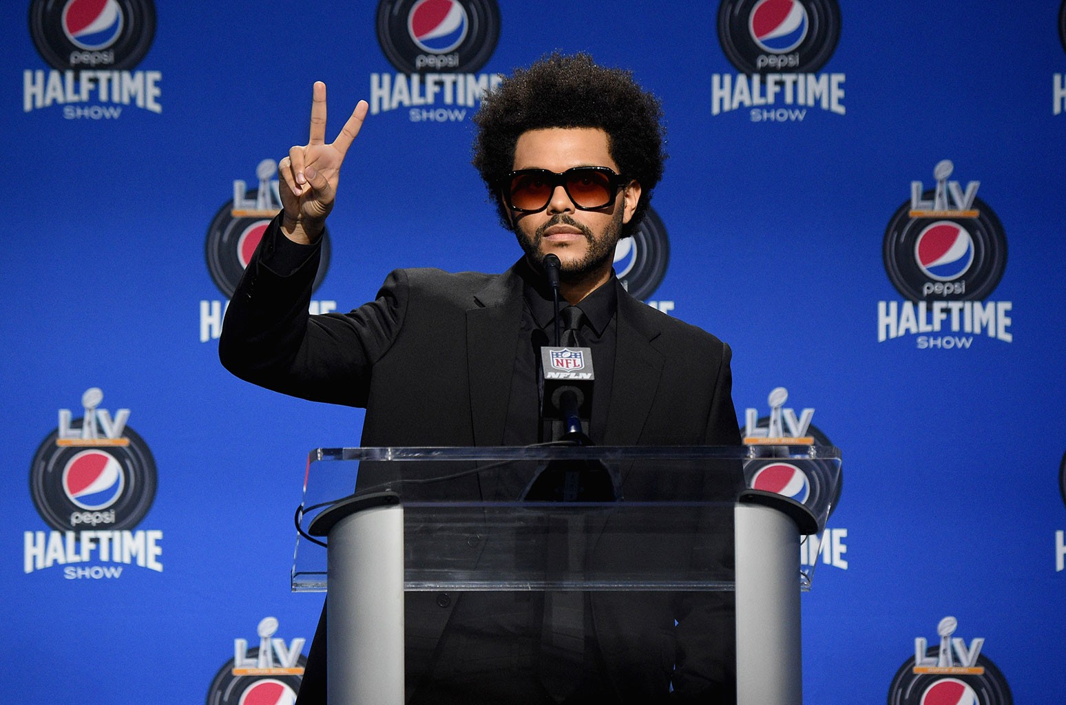 No Lights Too Blinding For The Weeknd With Superstar Set at Super Bowl 2021 Halftime - Billboard
