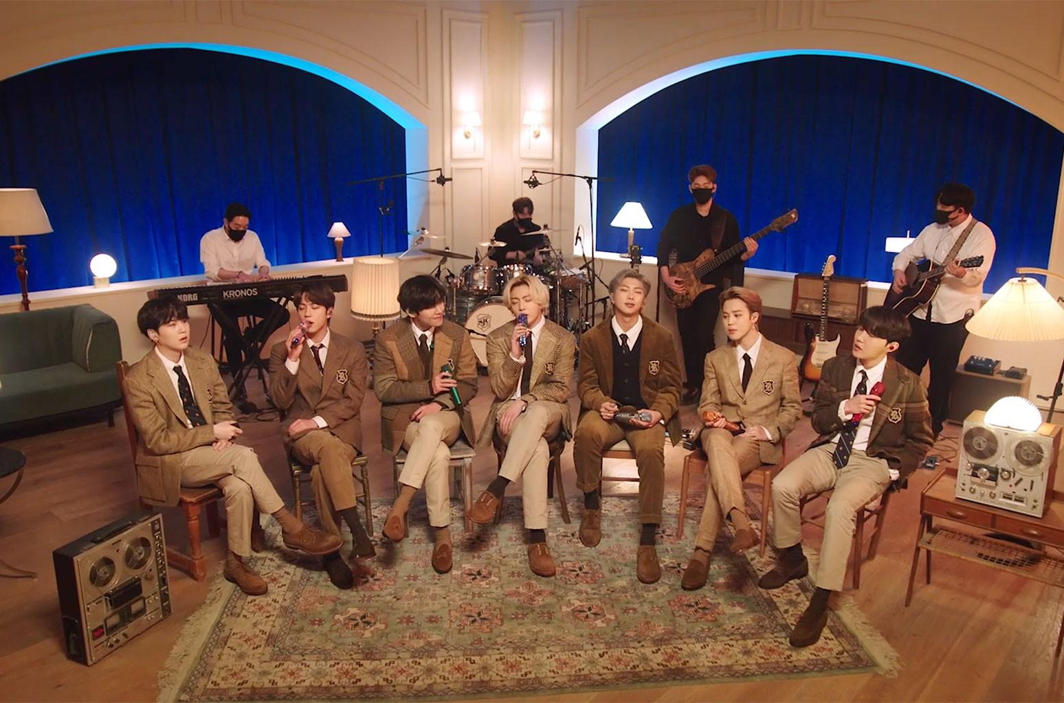 5 лучших моментов из выступления BTS на MTV Unplugged