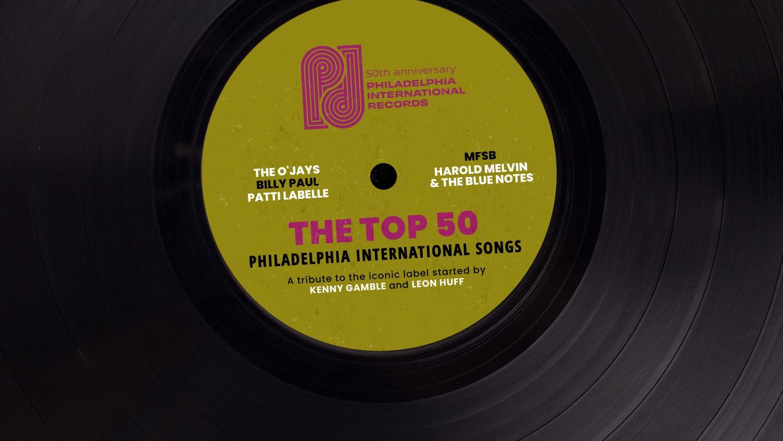 Philadelphia International Songs Top 50