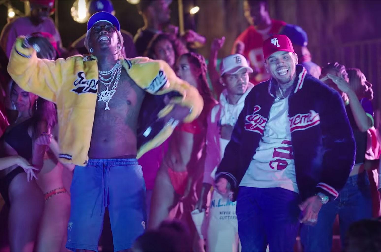 "Chris Brown, Young Thug ""Go Crazy"""