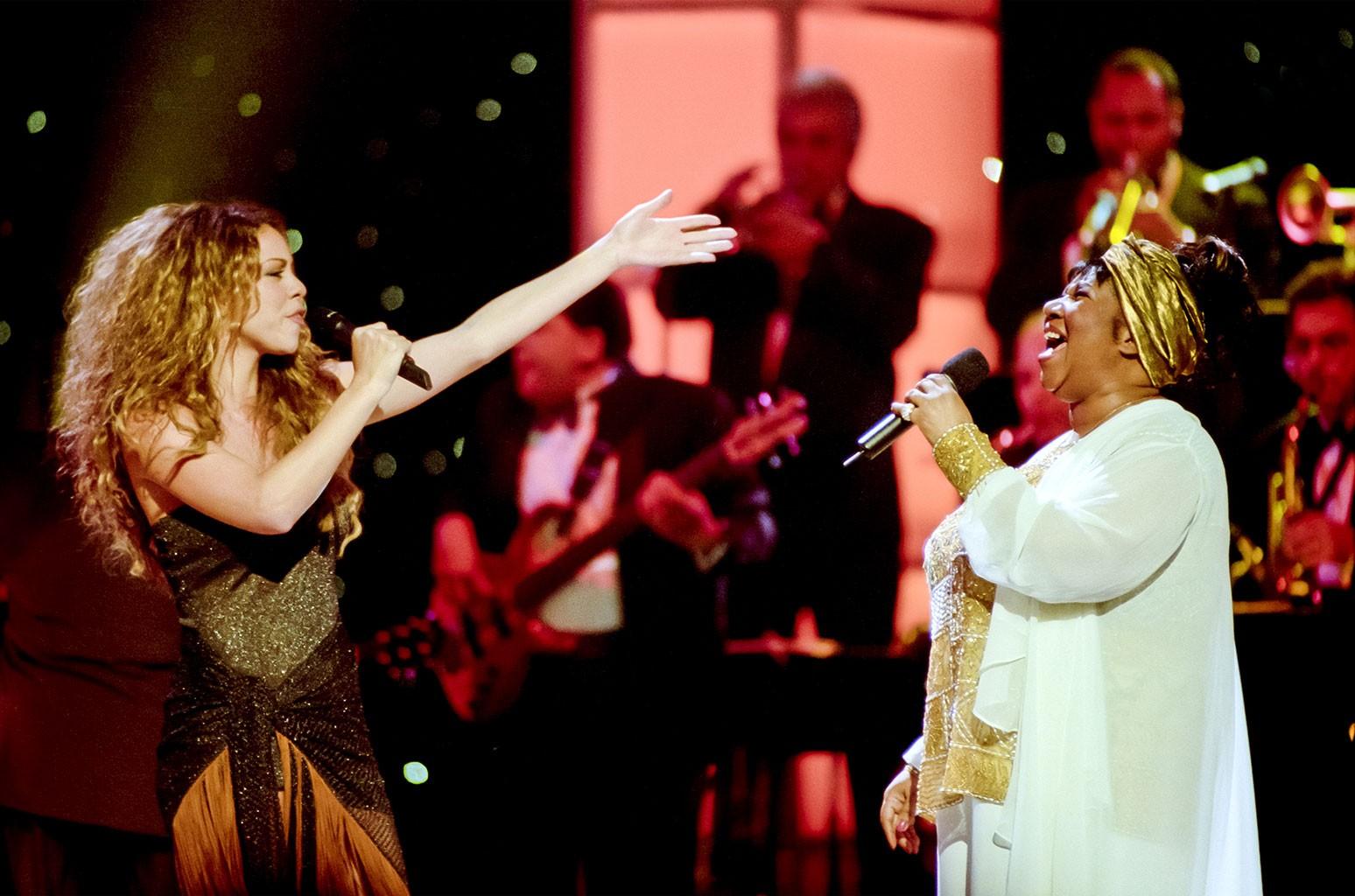 Mariah Carey Recalls 'Divas Live' Performance With Aretha Franklin |  Billboard